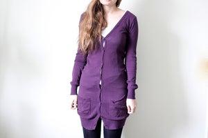 Image of Purple Cardigan