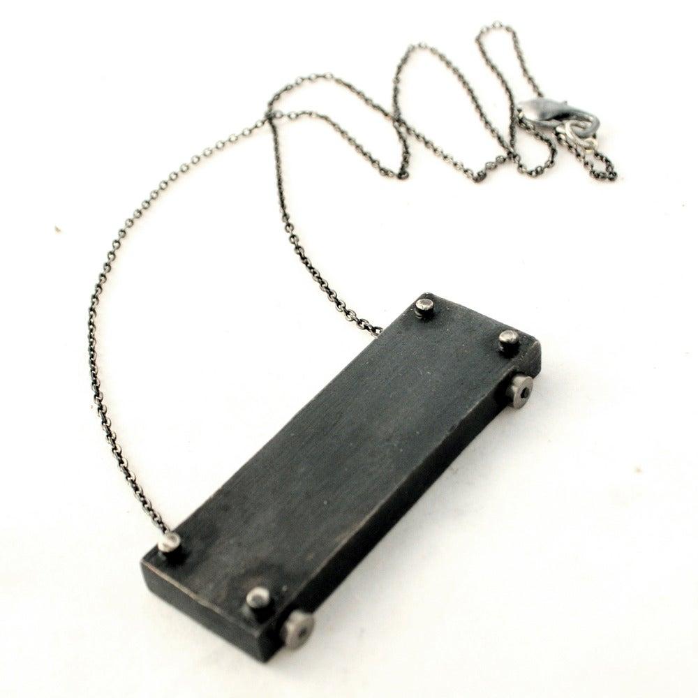 Image of medium horizontal necklace - LONG