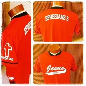 Image of Red Men's Jersus (Jesus Jersey)