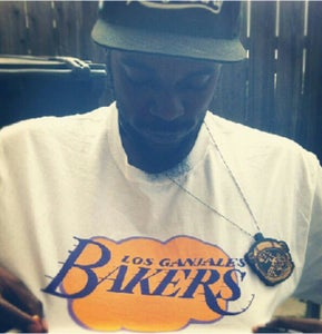 Image of Los Ganjales Bakers Tee - White