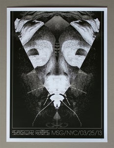 Image of Sigur Ros poster Madison Square Garden 03/25/13