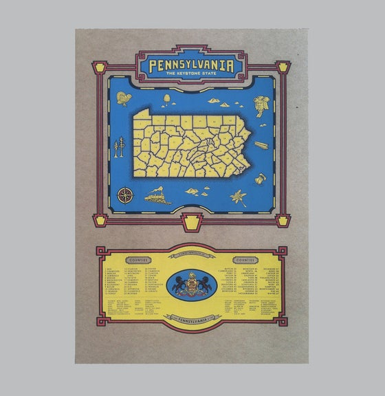 Image of pennsylvania map