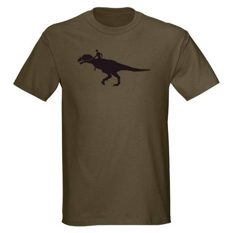 Image of Dino Rider Adult Unisex T-shirt
