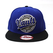 "Image of Vault ""New York Safe Crackers"" Snapback (ROYAL/BLK)"