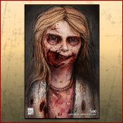 "Image of Addy Miller ""Walking Dead"" Numbered Print"