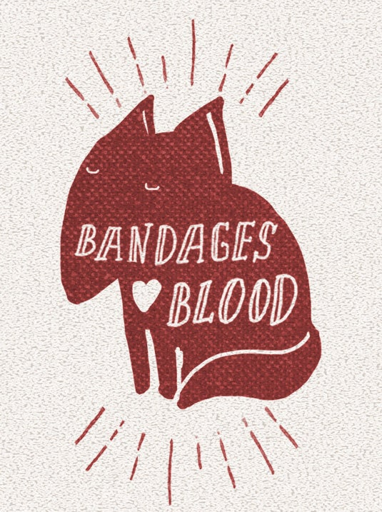 bandages love blood