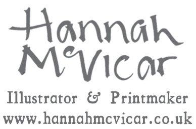 Hannah McVicar's Botanical Prints