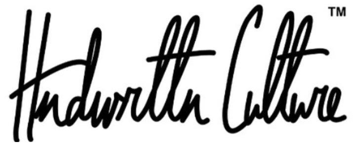 Handwritten Culture