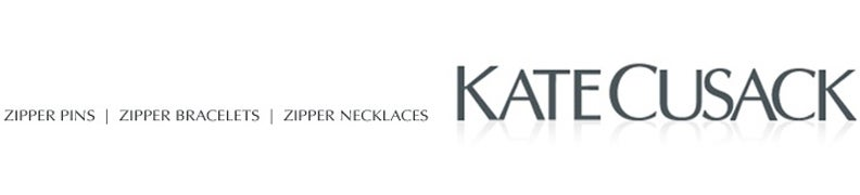 Zipper Jewelry by Kate Cusack