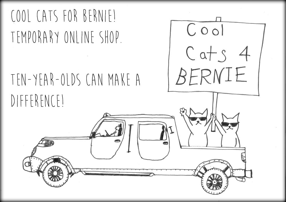 Cool Cats for Bernie!