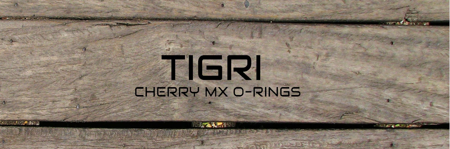 {Tigri}  Cherry Mx Keycap Rubber O-Ring Switch Dampeners