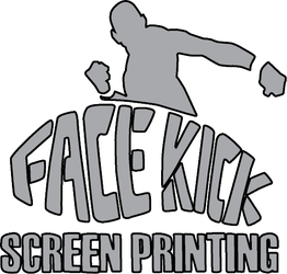 Facekick Screen Printing