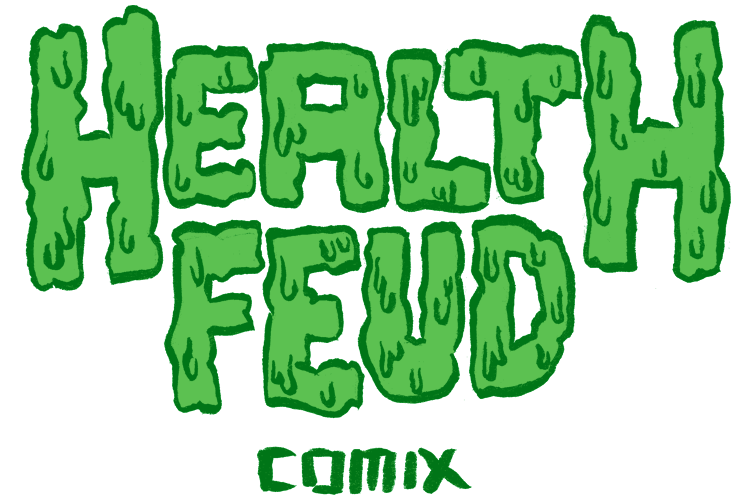 Health Feud Comix