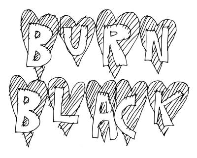 BURN BLACK DISTRO