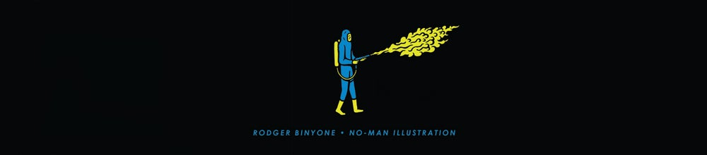 Rodger Binyone | NO-Man Illustration