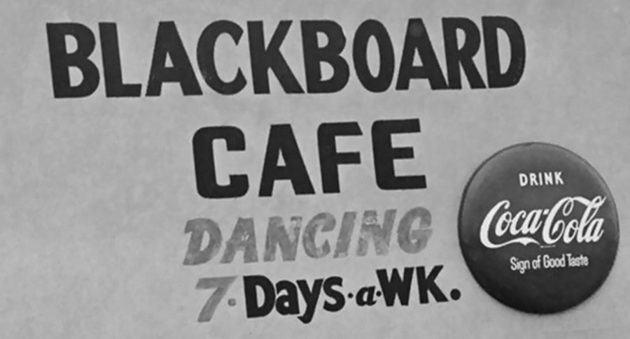 blackboard cafe