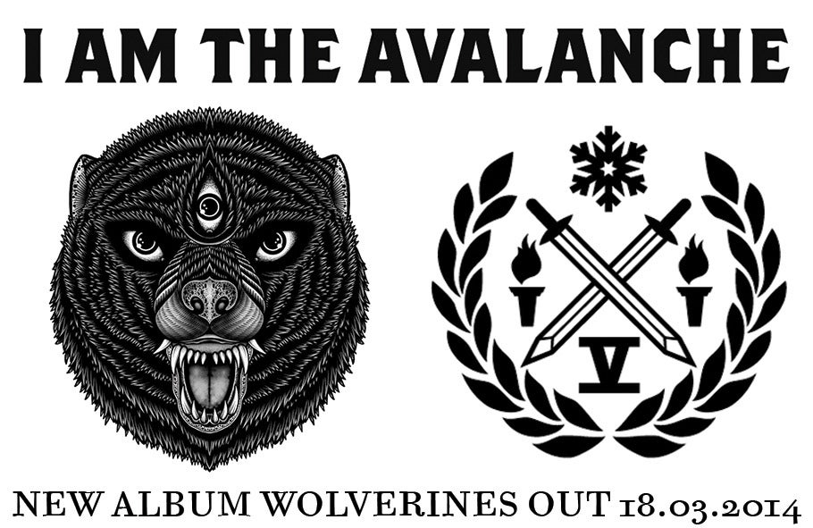 I AM THE AVALANCHE / WOLVERINES / NEW ALBUM OUT 18.03!