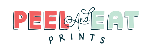 Peel & Eat Prints