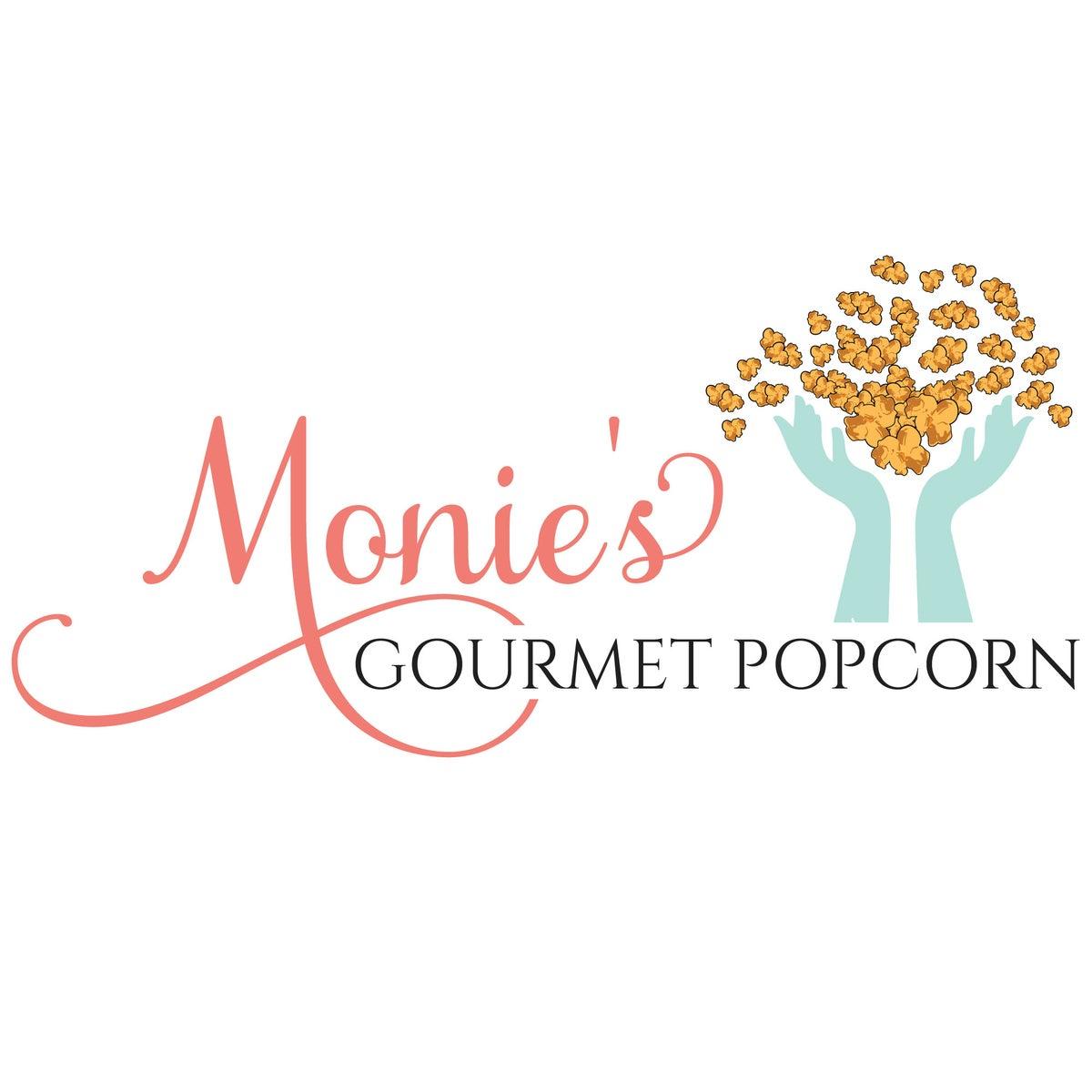 Monies Gourmet Popcorn — Home