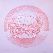 Image of Handburger Knuckle Sangwidge print by Mark Oliver