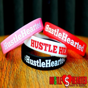 Image of Hustle Hearted wristbands