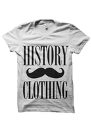 Image of Moustache Tee - White
