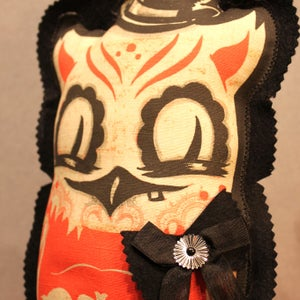 """Image of Winchester Hoot Doll: Creamsicle Edition. Jumbo size: 15"""" x 6.5"""""""