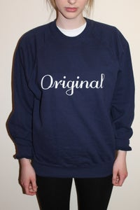 Image of ORIGINAL SWEAT (NAVY BLUE)