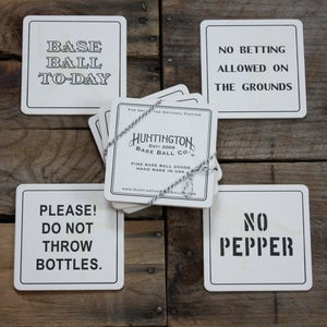 Image of Letterpress Coasters