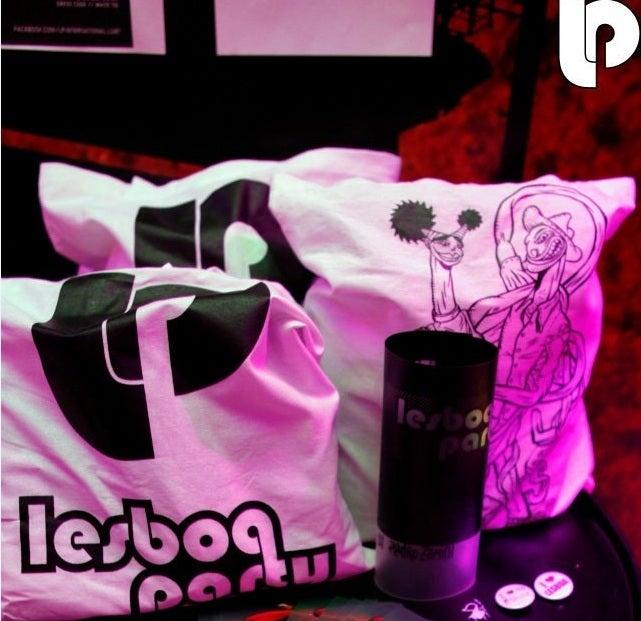 Image of LESBOA PARTY Cotton Bags (design options)