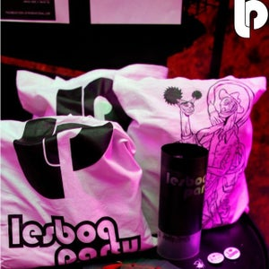 Image of LESBOA PARTY Cotton Bags (design options)