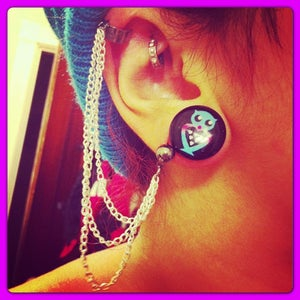 Image of 3 Chain Ear Cuff