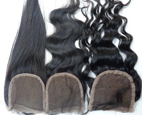 Image of Virgin Brazilian SilkBase lace closure
