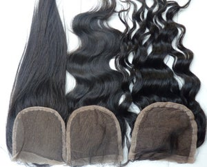 Image of Virgin Brazilian SilkBase lace closure