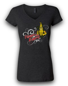 Image of Women's Fashion Fear the Ear-Dark Grey Heather