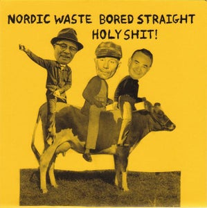"""Image of HOLY SHIT! Nordic Waste, Bored Straight 7"""" V/A"""