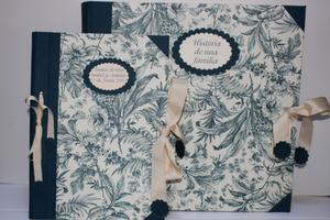 Image of Conjunto para bodas: Álbum de fotos y libro de firmas
