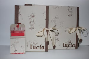Image of Conjunto de comunión: álbum y libro de firmas