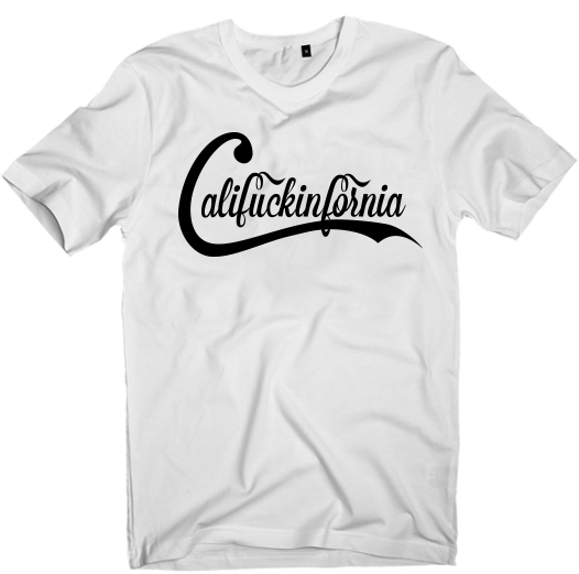 Image of Califuckinfornia T-Shirt (UNISEX)