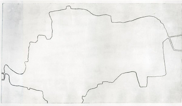 Image of The Long and Short of It </br>By Siobhán McAuley</br> Unique Etching on Paper