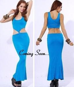 Image of Blue Dress