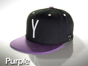 Image of Purple snap back cap