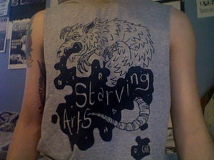 Image of Starving Arts Rat Vomit T-Shirt
