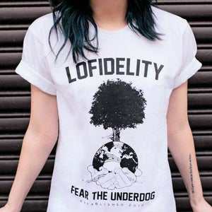Image of Fear The Underdog // White Tee