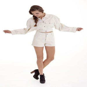 "Image of ""Sacred Inca"" Jacket White"