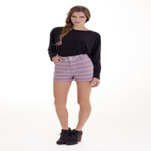 "Image of ""Peruvian"" High Waist Shorts"