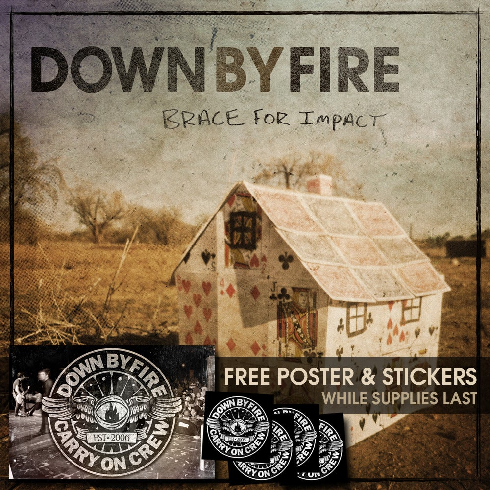 Image of Down By Fire - Brace For Impact EP