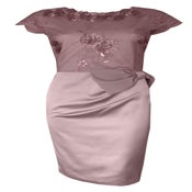"""Image of Angelina Bow Dress D413 """"more colours"""""""