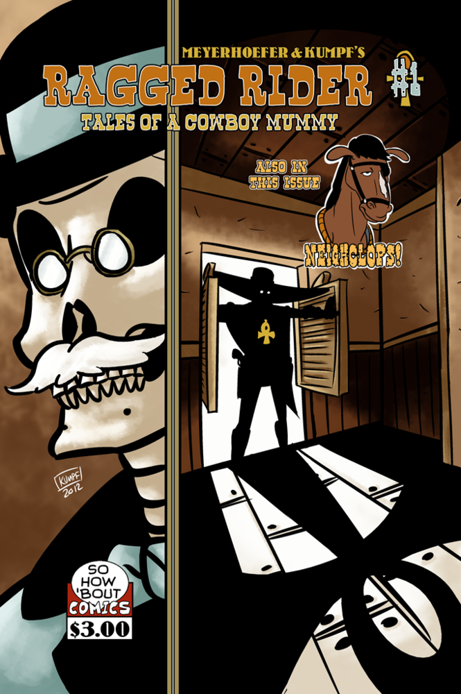 Image of Ragged Rider: Tales of a Cowboy Mummy #1