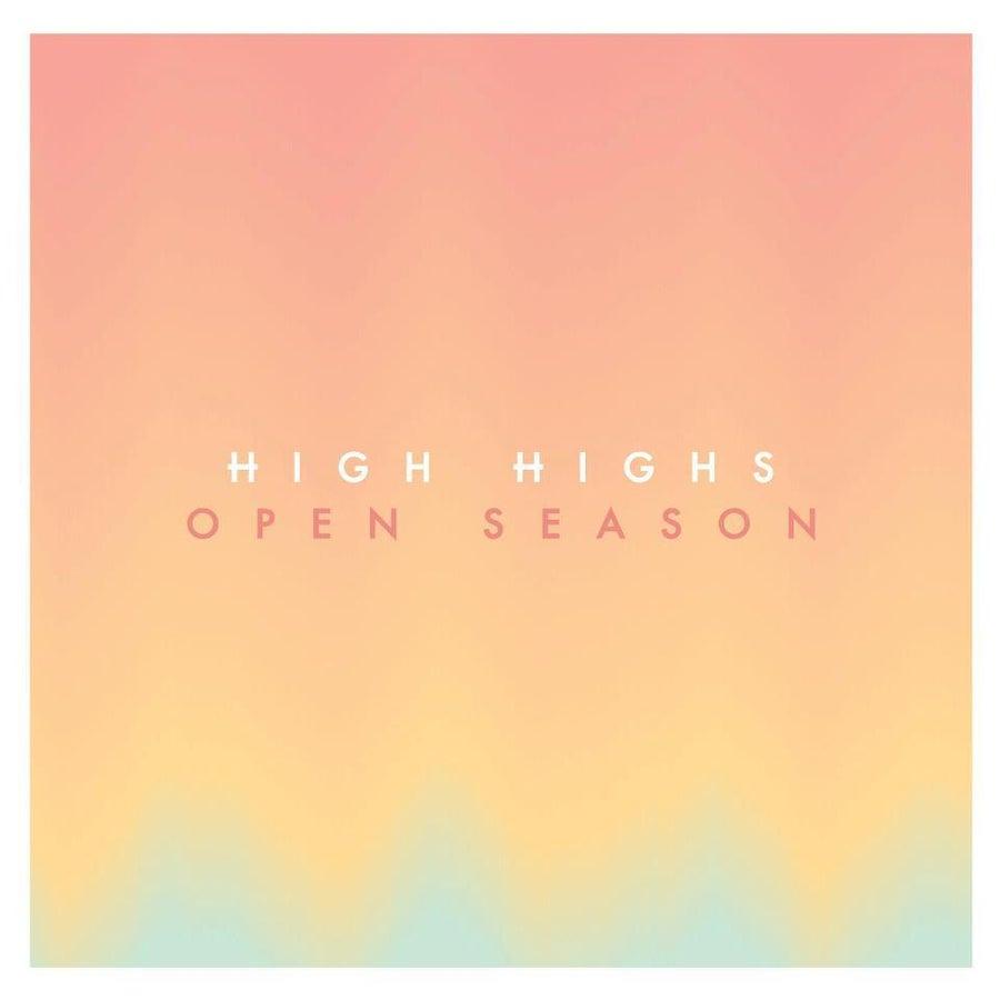 "Image of High Highs ""Open Season"" LP (CD)"